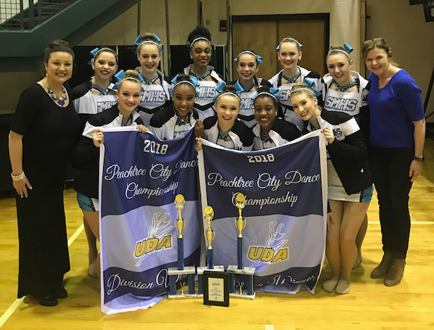 Pantherettes win at state