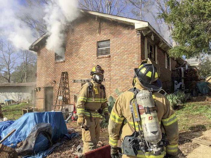7 residents OK after south Fayette house fire