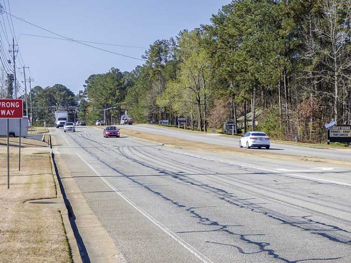 Cross-county repaving of Ga. Hwy. 54 starts in April
