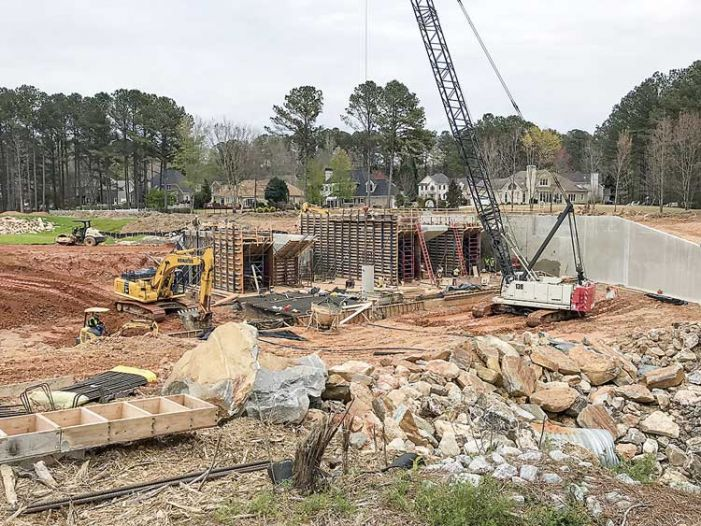Will Lake Peachtree be refilled by July?