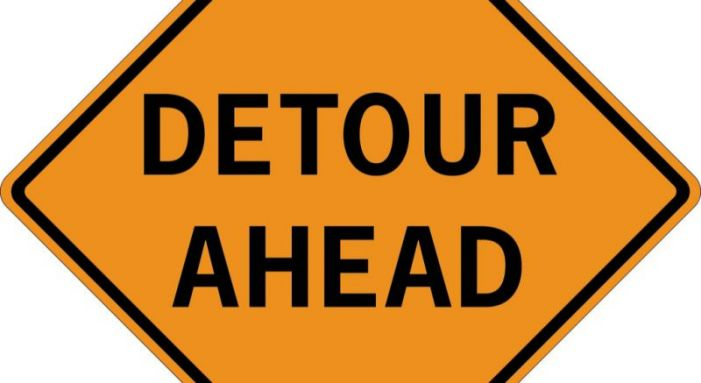 Detour set for north Fayette roundabout work