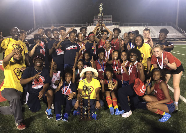 FRMS sweeps county track titles