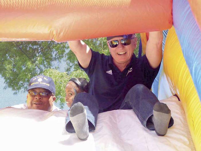 Fayetteville leaders, kids enjoy Church Street park