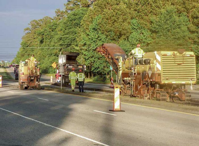 Repaving Hwy. 54 focuses initially on left-turn lanes