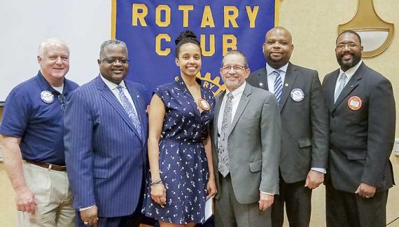 Historic moment for Rotary Club of Peachtree City