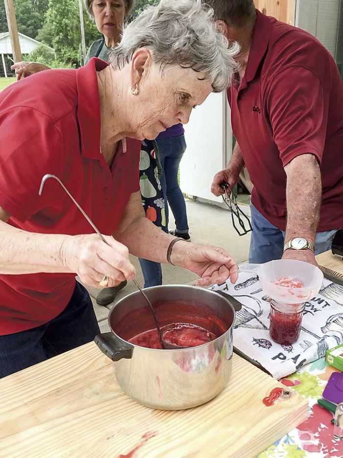 Strawberry Jam Fest at Tyrone's Hopewell UMC