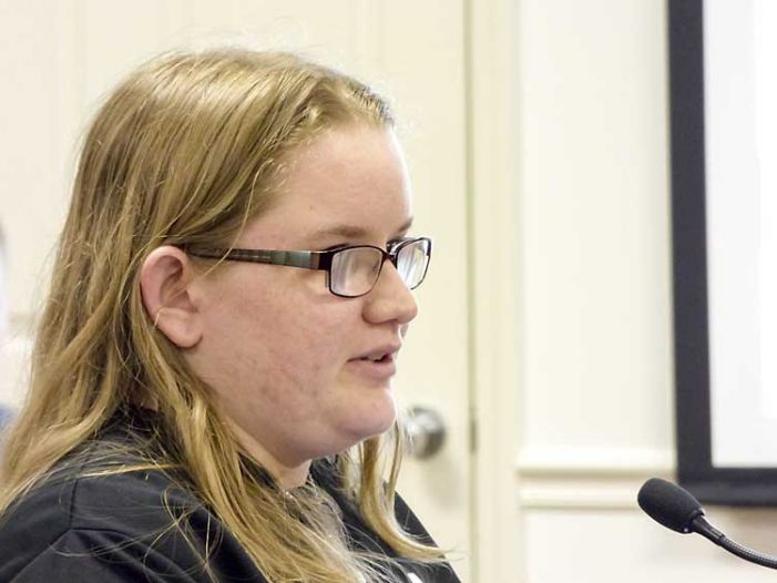 New FCHS graduate tells BoE about her responses to bullying