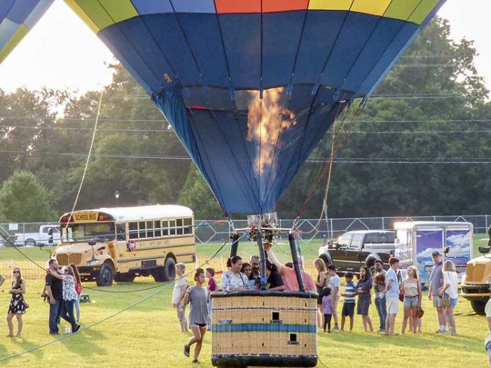 Balloons Over Fayette crowd estimated at more than 7,000