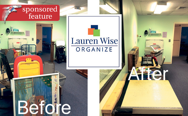 Lauren Wise Organize changes homes, changes lives
