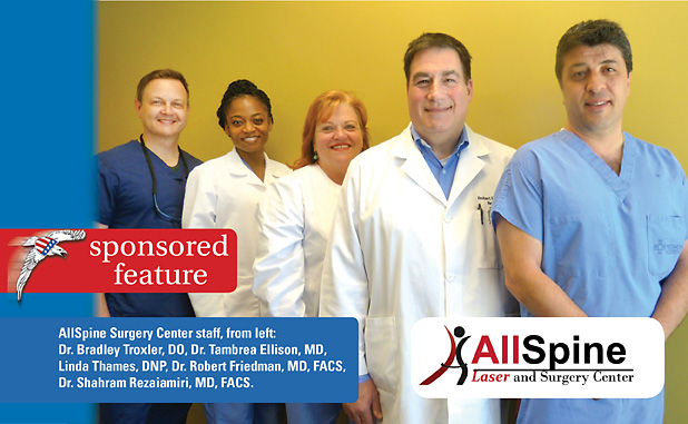 Allspine offers innovative options for back, neck and joint pain