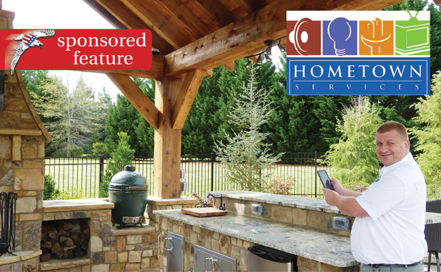 Home Town Services designs, installs home theaters and more