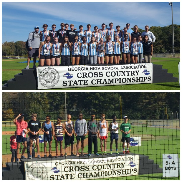 Runners shine at state