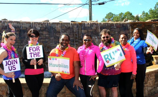 Hawaiian Run Thingy, family fun event, debuts April 18