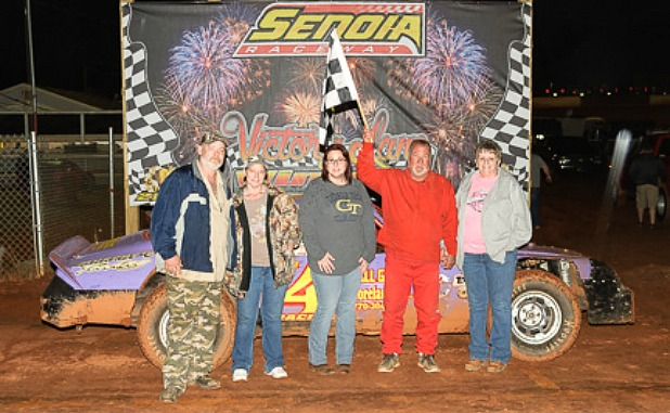 Senoia Raceway reopens with hometown driver as victor