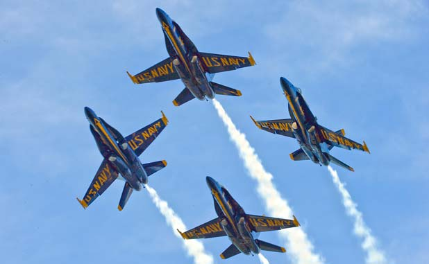 Blue Angels fly into town this fall