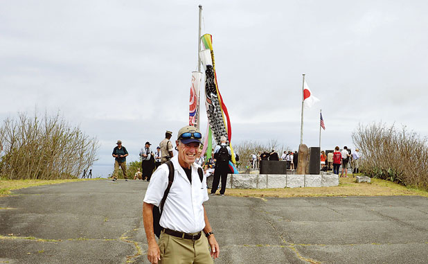 For PTC's Tom Rickert, a mission to Iwo Jima