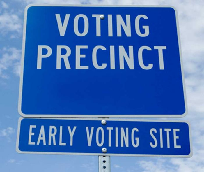 Early voting now underway in 3 Fayette locations