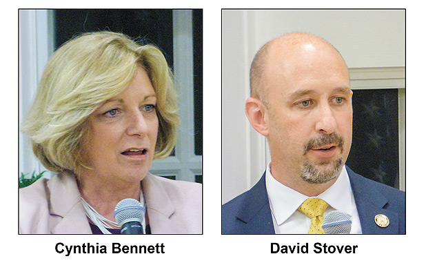Stover and Bennett square-off in state rep debate
