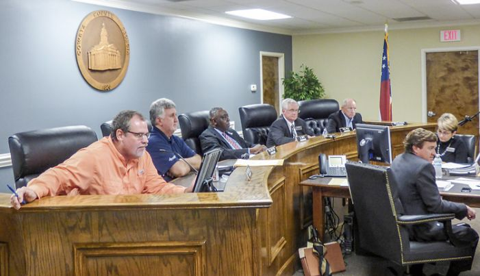 What do Coweta officials think about annexation by Peachtree City?