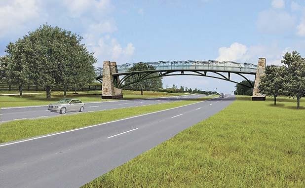 Fayetteville to study Hwy. 54 pedestrian bridge