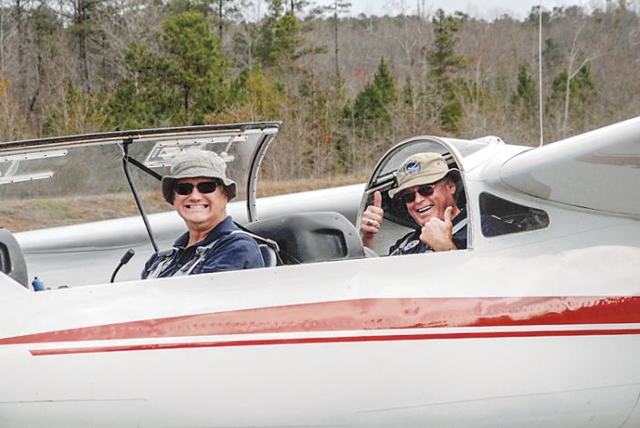 CAP glider pilots in training