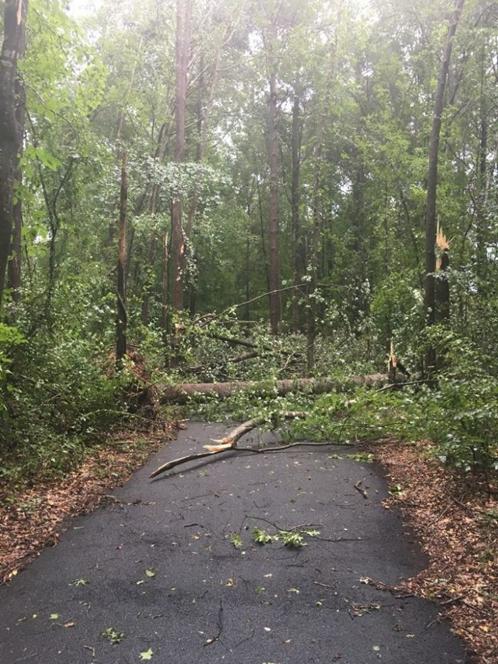 PTC home damaged in Monday storm