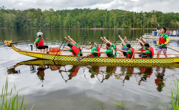 Dragon boat practice returns July 15