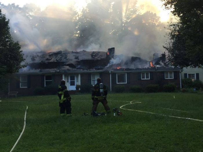No injuries in Fayetteville fire that left home a total loss