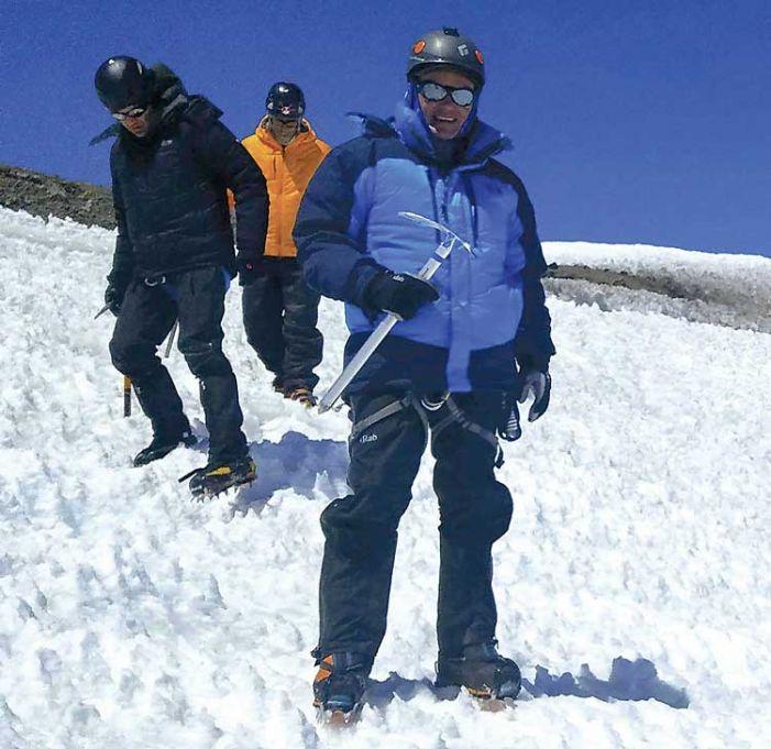 Fayetteville man beats illness, tops Mt. Rainier