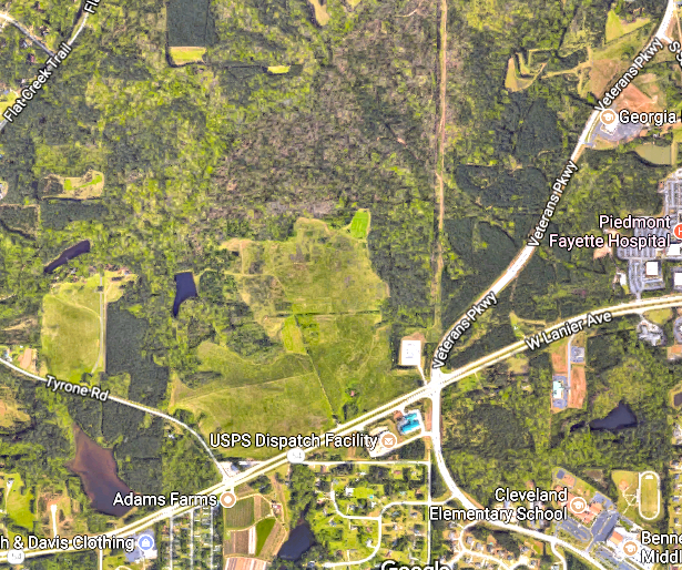 Fayette County Development Authority wants 267-acre business park in west Fayetteville