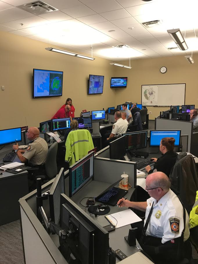 Fayette, Coweta agencies respond to Tropical Storm Irma