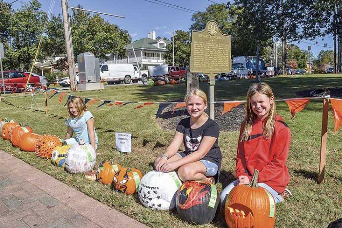 Pumpkin time in Fayetteville