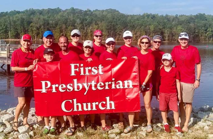 First Presbyterian Church PTC enjoys Dragonboat competition