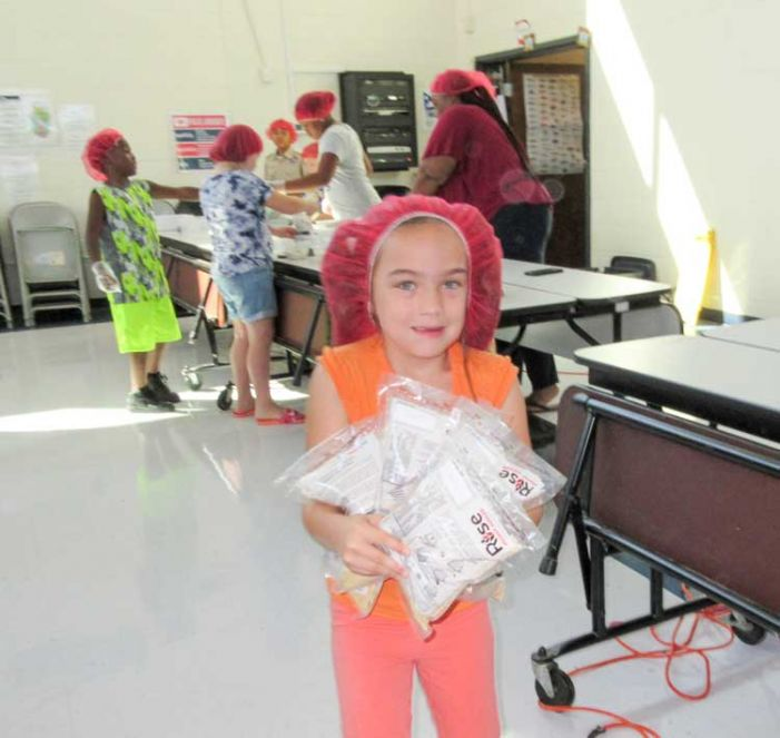 Hopewell helps feed the hungry