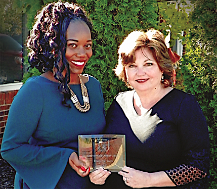 Bloom receives award as Georgia's Most Outstanding Foster Care Agency
