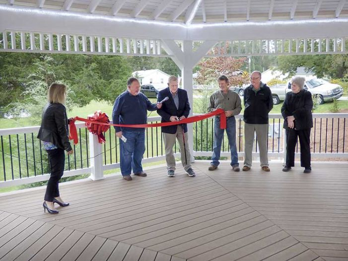 Sharpsburg celebrates its first town park
