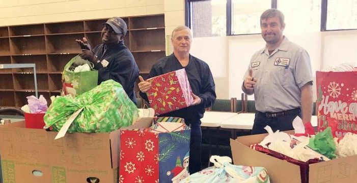 School system warehouse helps with Angel Tree deliveries