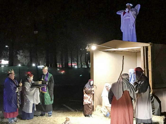 Cornerstone UMC produces 6th annual drive-thru nativity