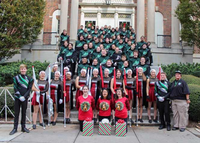 McIntosh band marches in Atlanta parade