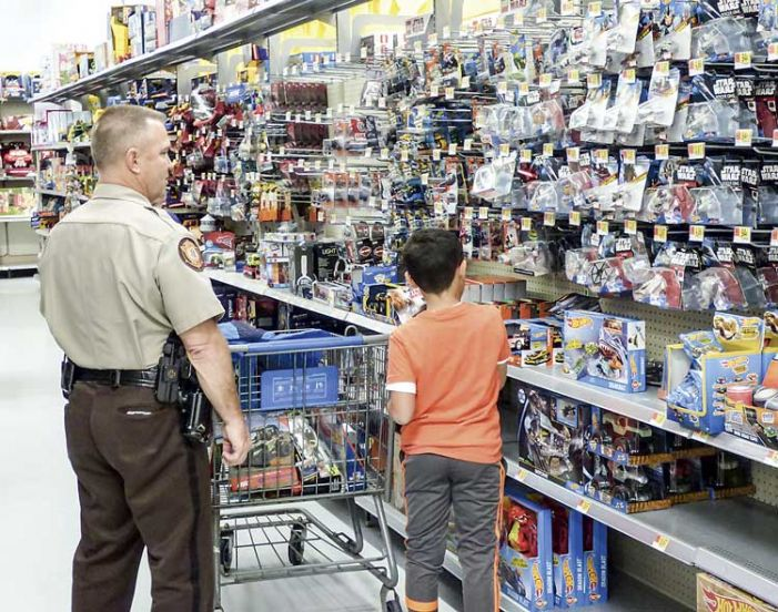 Shopping with the Sheriff