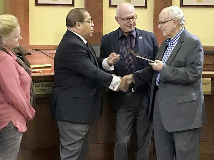 Williams steps down from Fayetteville Council