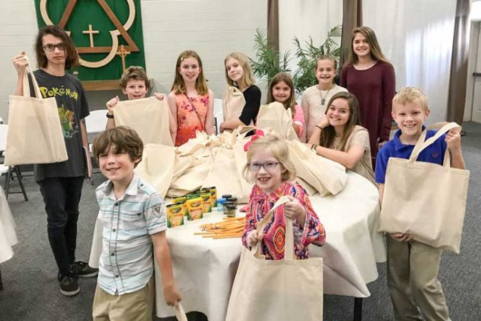 Church kids help out many disaster victims