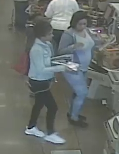 3-person crew targeting older female shoppers