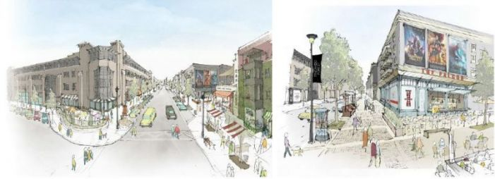Pinewood Forest reveals new streetscape, announces first restaurant
