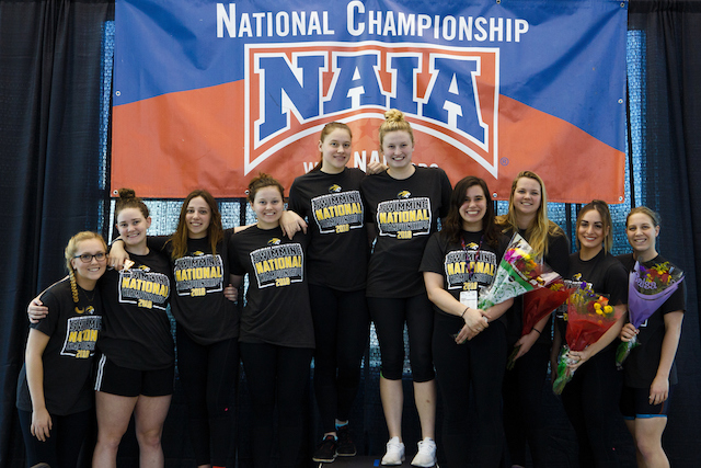 Swim team finishes eighth