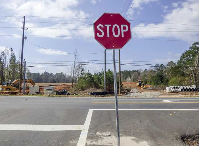 Is a traffic light ahead for new intersection in north Fayette?