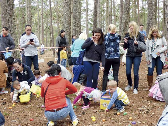 Easter egg hunters gather in PTC