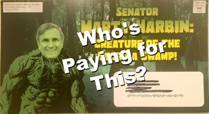Here's who's paying for the negative political mailers in the Georgia Senate District 16 race