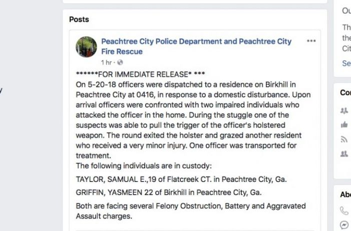 Two PTC residents arrested in domestic disturbance call