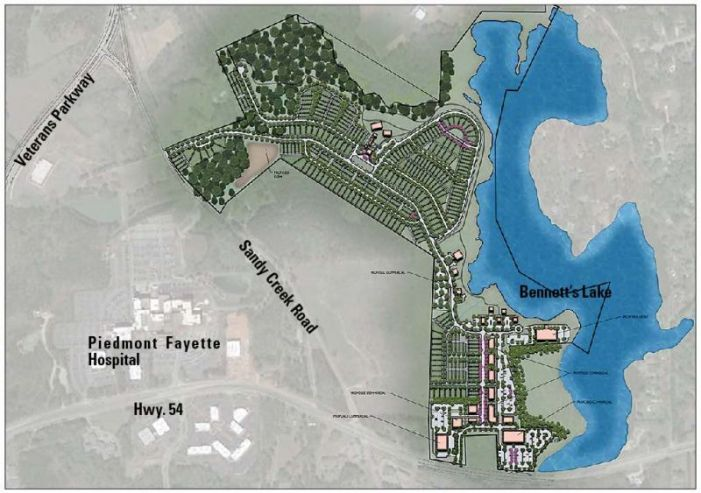 $139 million west Fayetteville development in the study stage